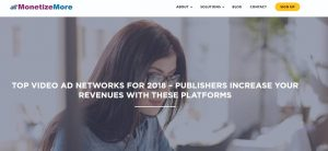 MONETIZEMORE, A LEADER IN THE PUBLISHING AD-TECH SPACE RECOMMENDS SELECTMEDIA