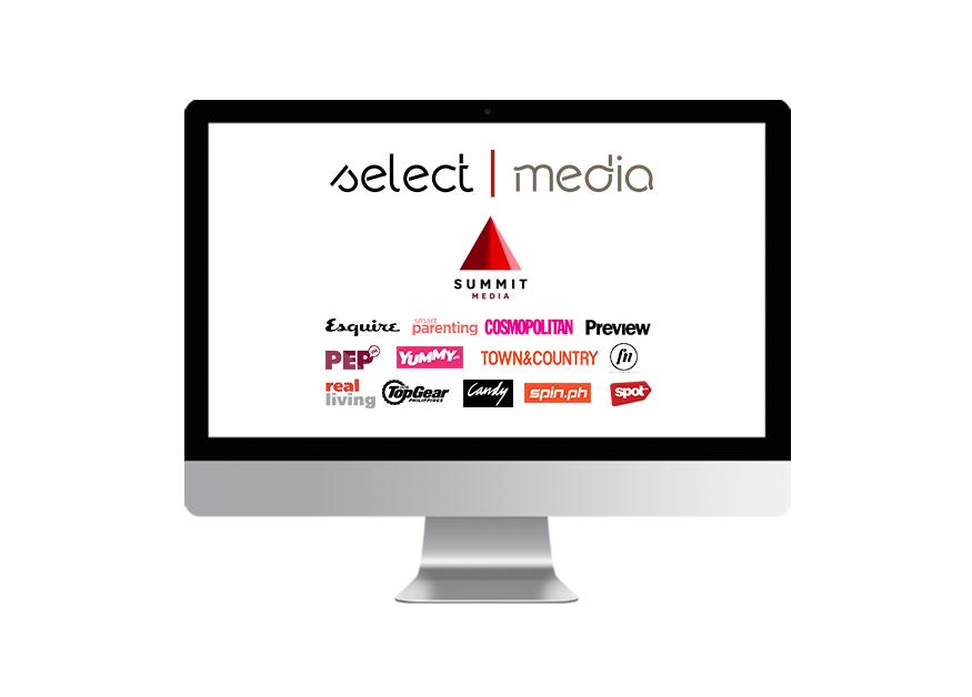 SelectMedia is partnered with SummitMedia