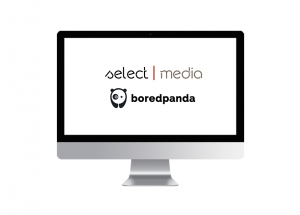 SelectMedia collaborates with BoredPanda.com