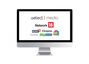SelectMedia is partnered with Network18