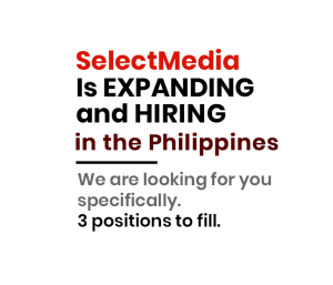 SELECTMEDIA IS HIRING IN THE PHILLIPINES