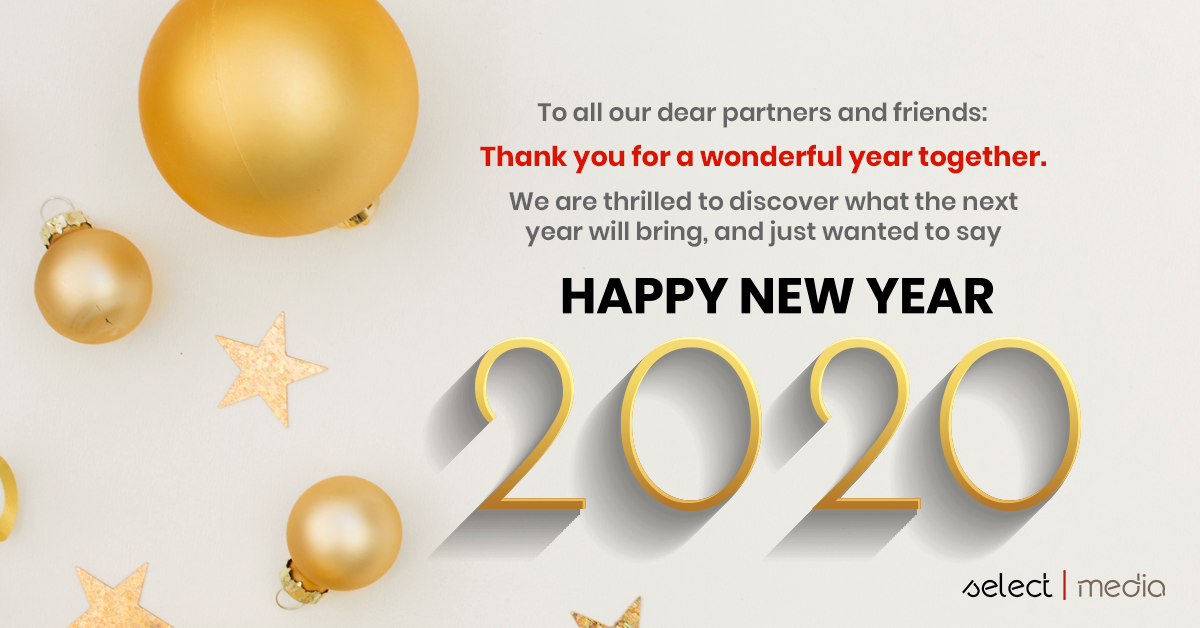 2020:Happy New Year from SelectMedia
