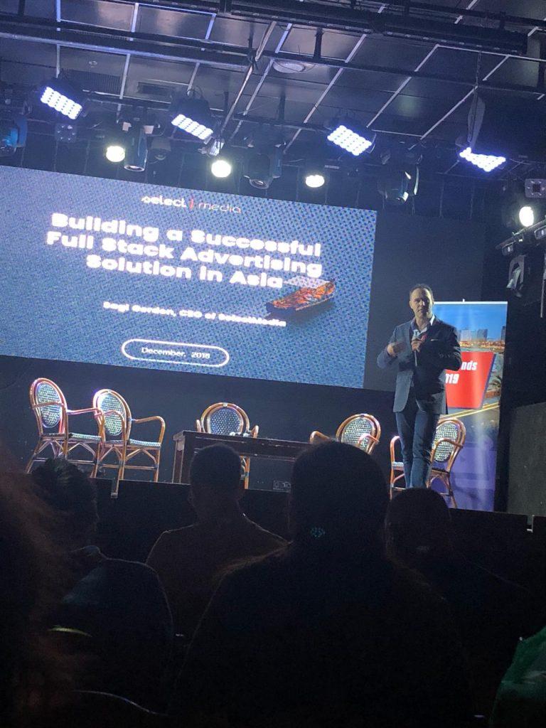 Selectmedia presenting at Video Trends Summit 2019